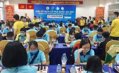 Khai mạc giải cờ vua VĐQG 2021: Trần Tuấn Minh và Nguyễn Thiên Ngân vô địch cờ chớp