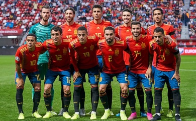 Đội hình tuyển Tây Ban Nha 2021 mới nhất