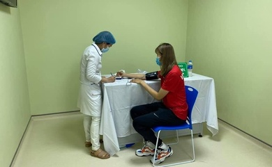 Sức khỏe VĐV ổn sau khi tiêm vaccine ngừa COVID-19