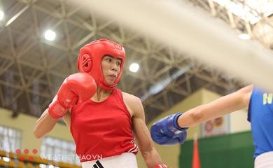 Boxer Vương Thị Vỹ quay lại với mục tiêu SEA Games đầy thử thách