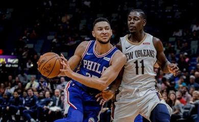 Nhận định NBA: New Orleans Pelicans vs Philadelphia 76ers (ngày 10/04, 7h00)