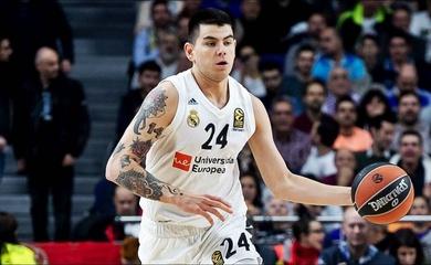 """Lập kỷ lục 3 điểm tại EuroLeague, Real Madrid bị OKC cuỗm """"thánh dunk"""" Argentina"""