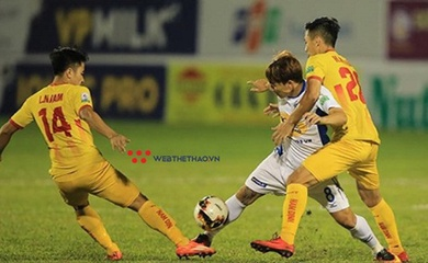 Lịch thi đấu vòng 9 V.League 2021: Tâm điểm HAGL vs Nam Định