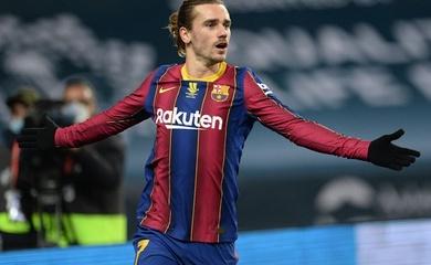 Điềm báo Griezmann sẽ ghi bàn ở Siêu kinh điển Real vs Barca