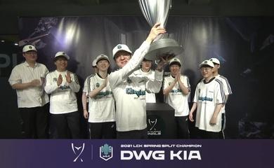 Kết quả chung kết LCK Mùa Xuân 2021 hôm nay 10/4: DWG KIA vô địch