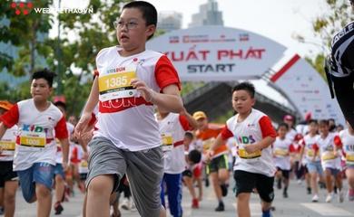 Khoảnh khắc đáng yêu trên đường chạy Kids Run Techcombank HCMC Marathon 2021