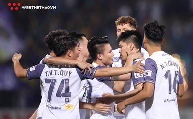 Ghi bàn dễ dàng, Hà Nội FC nhấn chìm Than Quảng Ninh