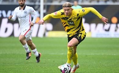 Haaland phá kỷ lục chạy nước rút ở Bundesliga mùa này