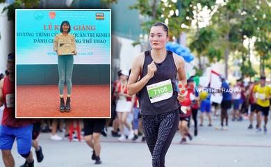 Chạy xong giải marathon TPHCM, Quách Thị Lan về nhập học khoa kinh tế