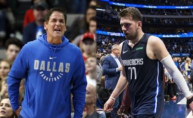 Lo mất suất Playoffs, Luka Doncic cùng ông chủ Dallas kịch liệt phản đối vòng Play-in của NBA