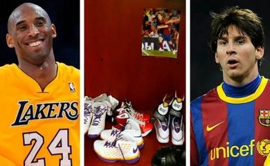 Vì sao Kobe giữ tấm ảnh có chữ ký Messi trong tủ đồ?