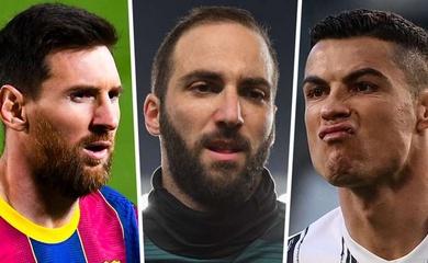 Higuain chia sẻ cách để hiểu rõ nhất về Ronaldo và Messi trên sân