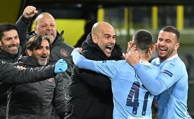 Man City phá lời nguyền Champions League dưới thời HLV Guardiola