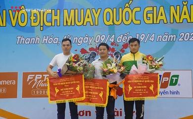 """Bế mạc giải Vô địch Muay quốc gia 2021: """"Bộ 3"""" Hà Nội - Thanh Hóa - TP. Hồ Chí Minh đứng vững nhóm đầu"""