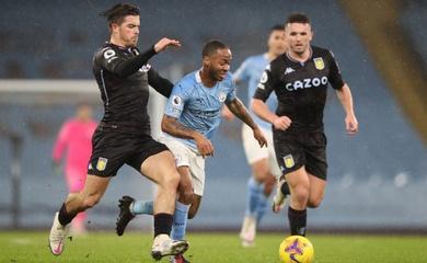 Lịch trực tiếp Bóng đá TV hôm nay 21/4: Aston Villa vs Man City