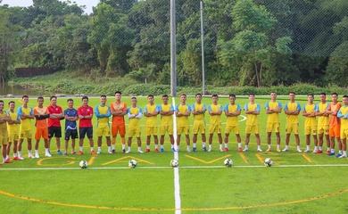 Gia Việt gây bất ngờ với phong cách tập luyện như đội bóng V.League