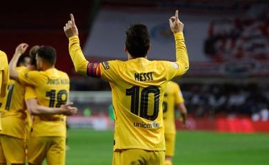 """Messi đứng trước cơ hội ghi bàn thắng ý nghĩa """"ma quỷ"""" cho Barca"""