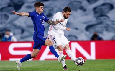 Kết quả bán kết cúp C1 hôm nay 28/4: Real Madrid vs Chelsea