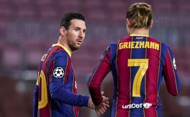 """Barca """"sống nhờ"""" vào Messi và Griezmann như thế nào?"""