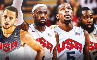 Dream Team của ĐT Mỹ dự Olympic 2021 sẽ ra sao?