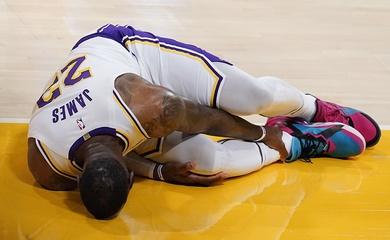Los Angeles Lakers cập nhật tình hình chấn thương của LeBron James