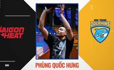 Chính thức: Tân Binh Saigon Heat Melvin Phùng cập bến Nha Trang Dolphins
