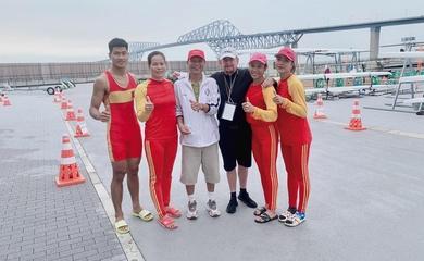 """Hành trình giành vé Olympic sóng gió khó tin của hai nữ """"chiến binh"""" rowing"""