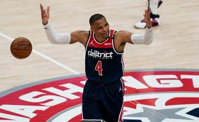 Russell Westbrook thiết lập kỷ lục kinh ngạc, Washington Wizards lại bay cao