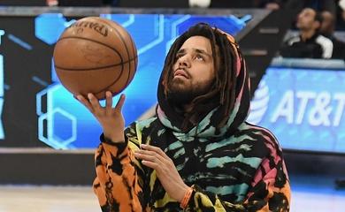 Rapper J. Cole thỏa ước mơ bóng rổ chuyên nghiệp với giải đấu của NBA tại châu Phi