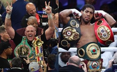 """Tyson Fury vs Anthony Joshua chốt lịch tháng 8, phá kỉ lục """"tiền lót tay"""""""