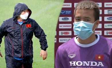 Tô Văn Vũ tiết lộ lý do thầy Park bất ngờ đổi lịch tập của tuyển Việt Nam