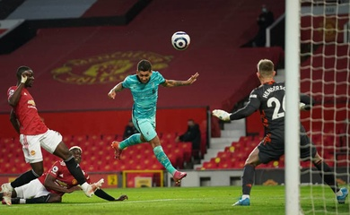 Xem lại bóng đá đêm qua: MU vs Liverpool