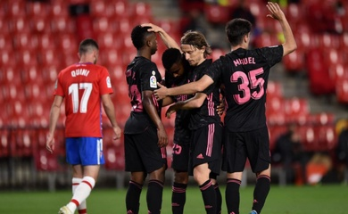 Video Highlight Granada vs Real Madrid, bóng đá Tây Ban Nha hôm nay 14/5