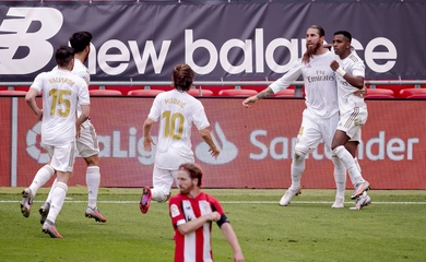 Link xem trực tiếp Athletic Bilbao vs Real Madrid, bóng đá Tây Ban Nha hôm nay 16/5