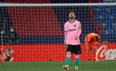 Barca có thể kết thúc La Liga tệ nhất trong 13 mùa gần nhất