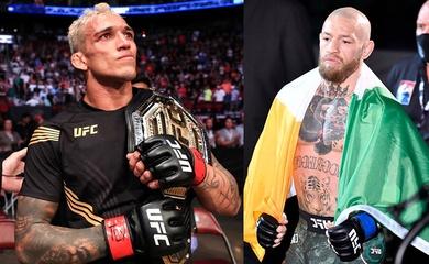 """Conor McGregor """"hỏi thăm"""" tân vương Charles Oliveira khi lên ngôi tại UFC 262"""