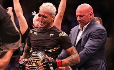 Charles Oliveira cùng 3 võ sĩ chiếm trọn 75 ngàn đô tiền thưởng phụ UFC 262