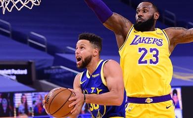 Hé lộ thống kê ném 3 đáng lo ngại của Stephen Curry trước Los Angeles Lakers