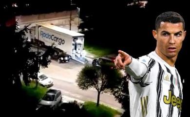 Vì sao Cristiano Ronaldo vội vàng chuyển đi 7 siêu xe trong đêm?