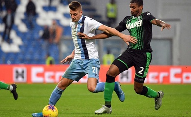 Nhận định Sassuolo vs Lazio, 01h45 ngày 24/05, VĐQG Italia