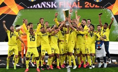 Kết quả chung kết cúp C2 đêm qua: Villarreal vô địch Europa League 2021