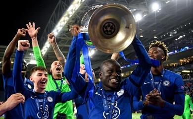 Kante áp đảo ở giải Cầu thủ xuất sắc nhất trận tại Champions League