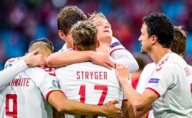 Kết quả tỷ số CH Séc vs Đan Mạch hôm nay, bóng đá EURO 2021