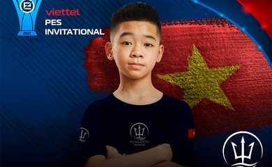 Thần đồng 13 tuổi của Việt Nam tham dự giải PES Châu Á 2021
