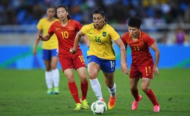 Lịch trực tiếp Bóng đá TV hôm nay 21/7: Nữ Trung Quốc vs Nữ Brazil