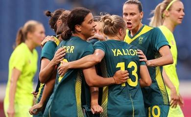 Kết quả bóng đá nữ Thụy Điển vs nữ Úc, Olympic 2021