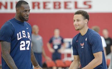 Lý do LeBron James, Stephen Curry, cùng loạt sao  NBA từ chối Olympic 2021?