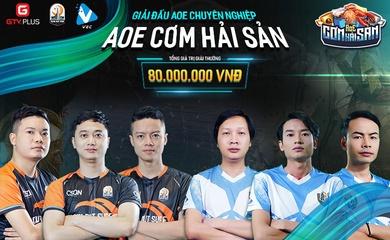 Danh sách 6 tuyển thủ tham gia giải đấu AoE Cơm Hải Sản