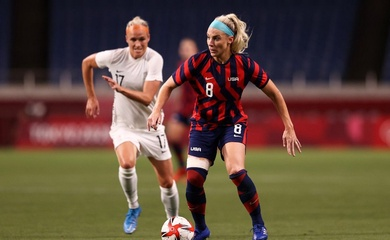 Lịch trực tiếp bóng đá Olympic 2021 hôm nay 27/7: Nữ Mỹ vs Nữ Úc