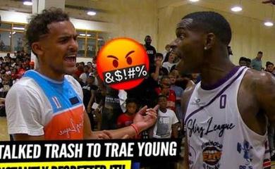 Khiêu khích Trae Young, tài năng bóng rổ phủi nhận cái kết đắng nghét!